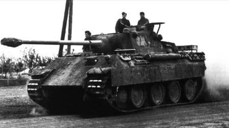 Panzer tank - WWII